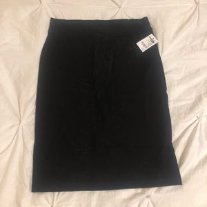 Charlotte Russe black pencil skirt NWT